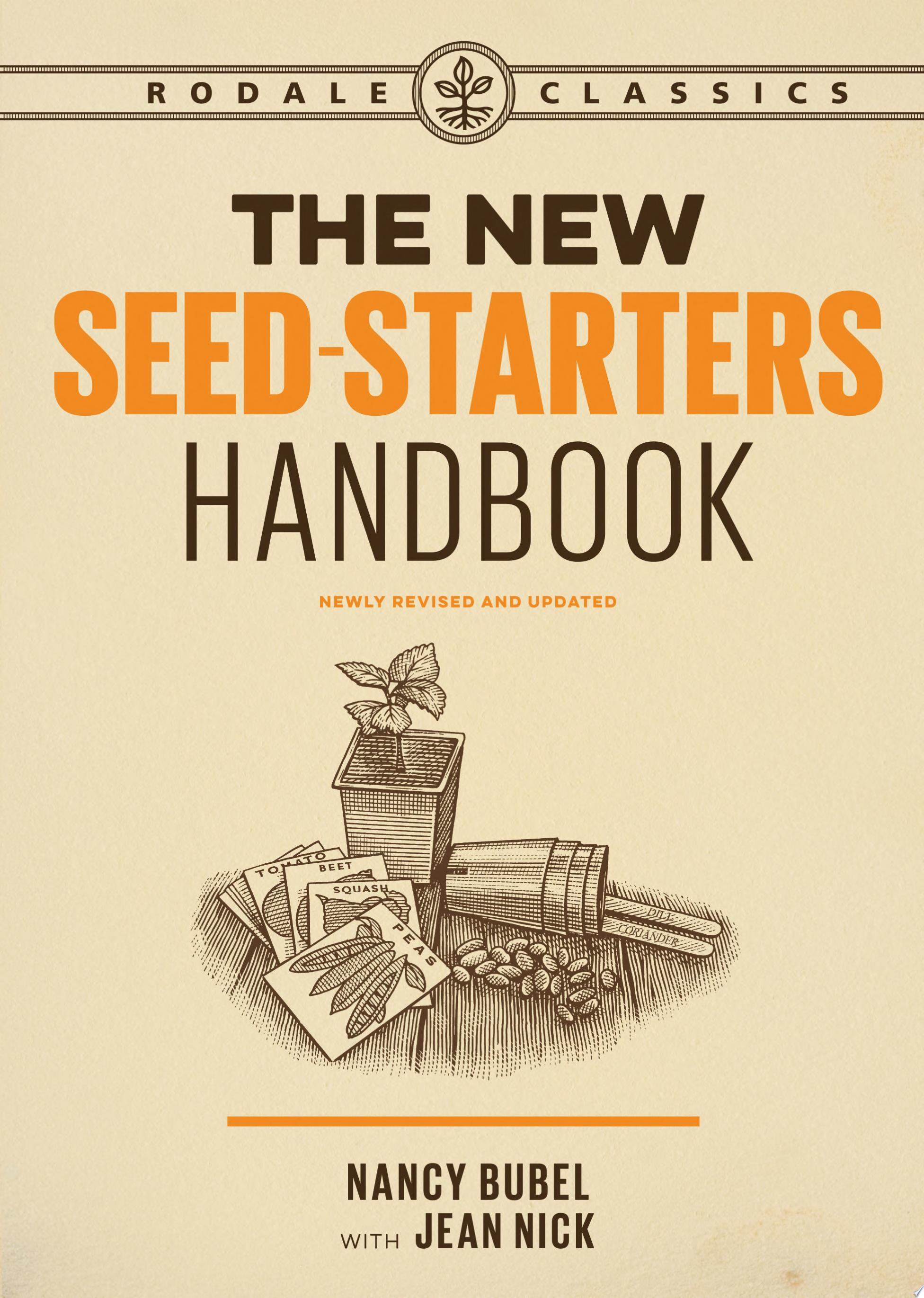 "Image for ""The New Seed-Starters Handbook"""
