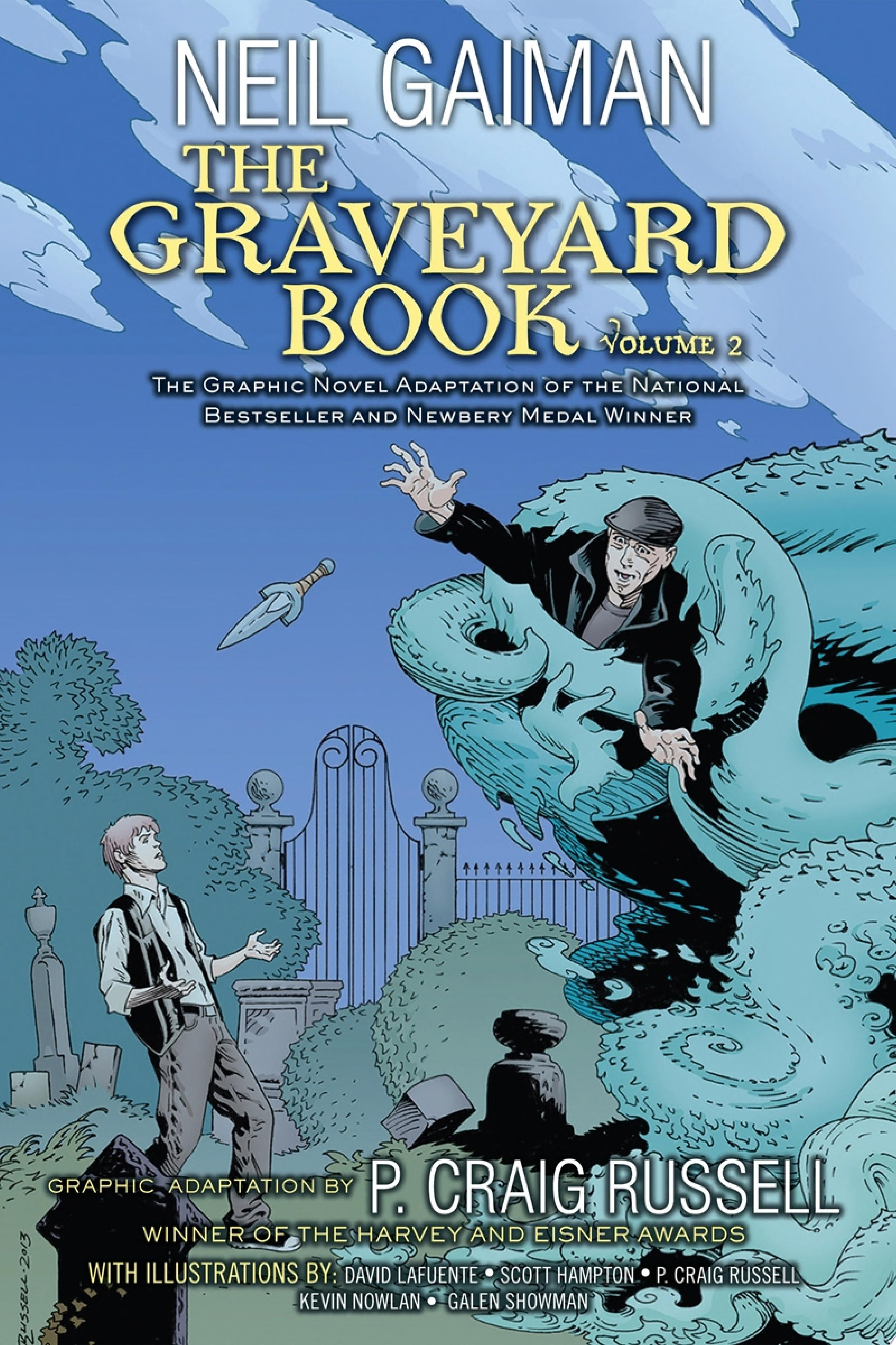 "Image for ""The Graveyard Book Graphic Novel:"""