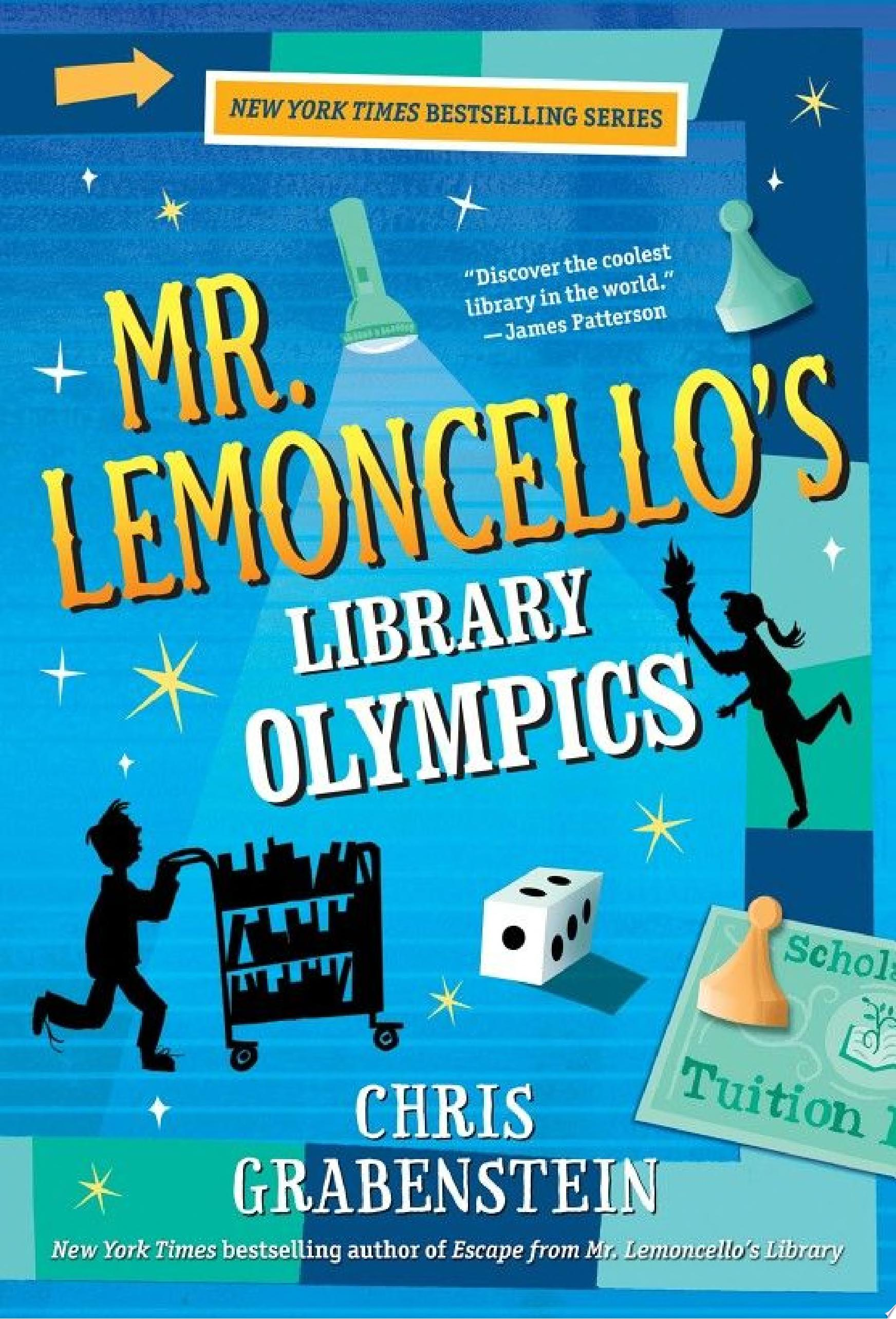 "Image for ""Mr. Lemoncello's Library Olympics"""