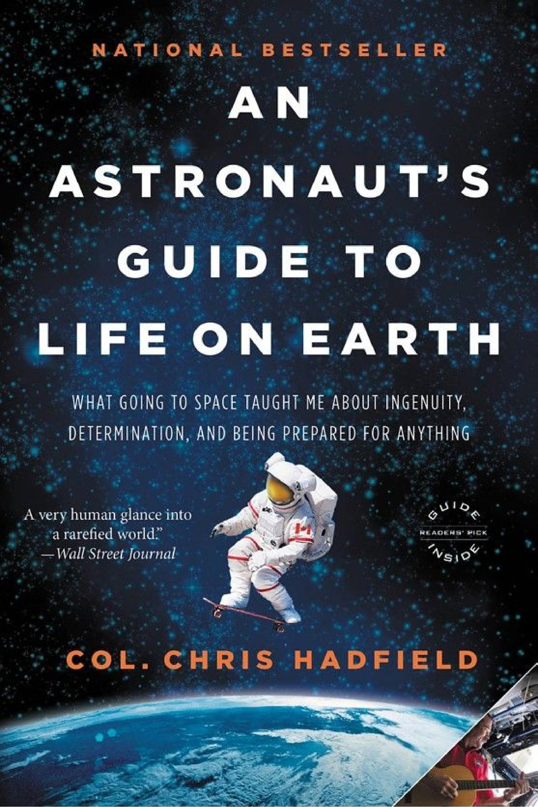 "Image for ""An Astronaut's Guide to Life on Earth"""