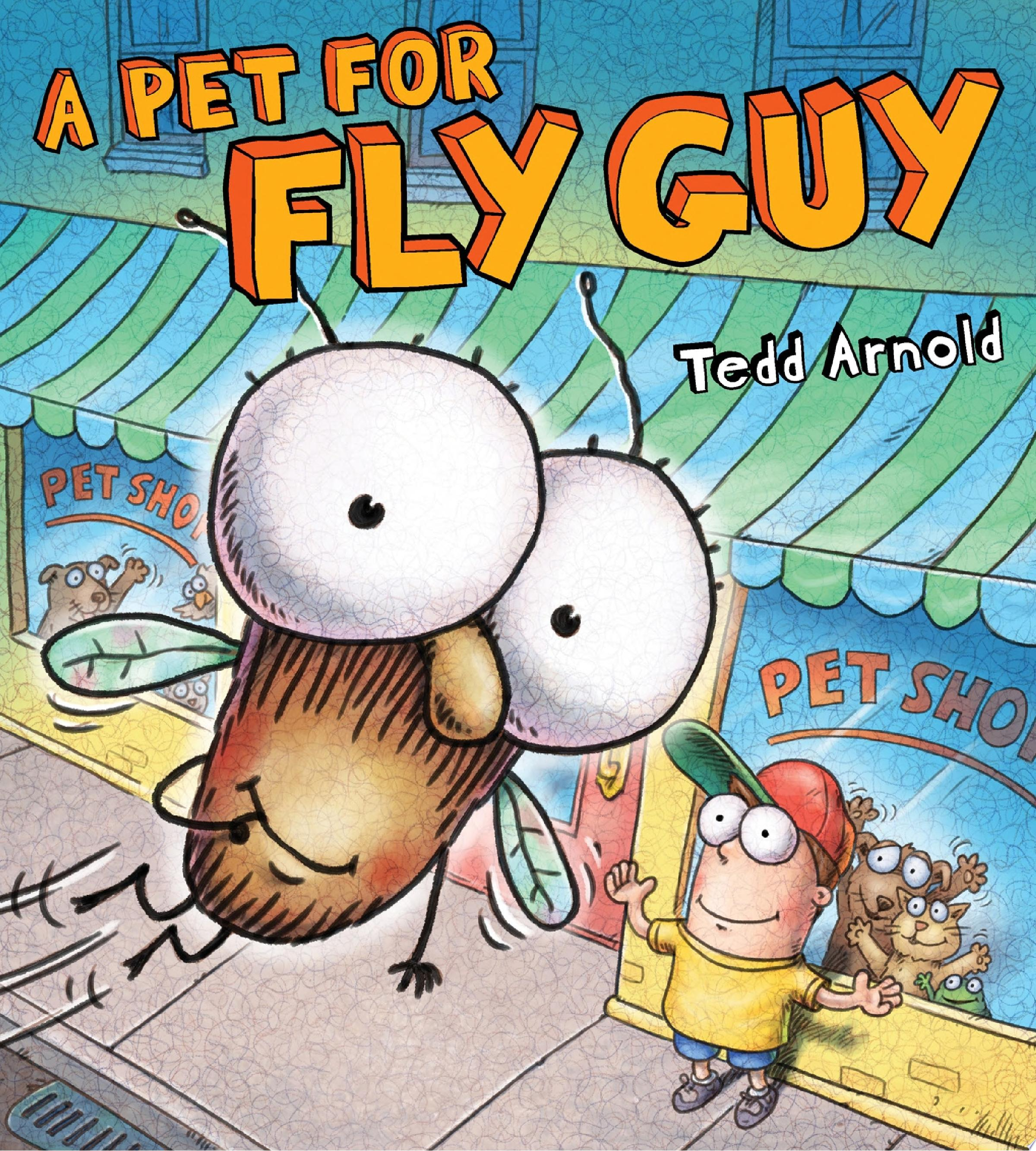 "Image for ""A Pet for Fly Guy"""