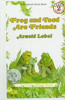 "Image for ""Frog and Toad are Friends"""
