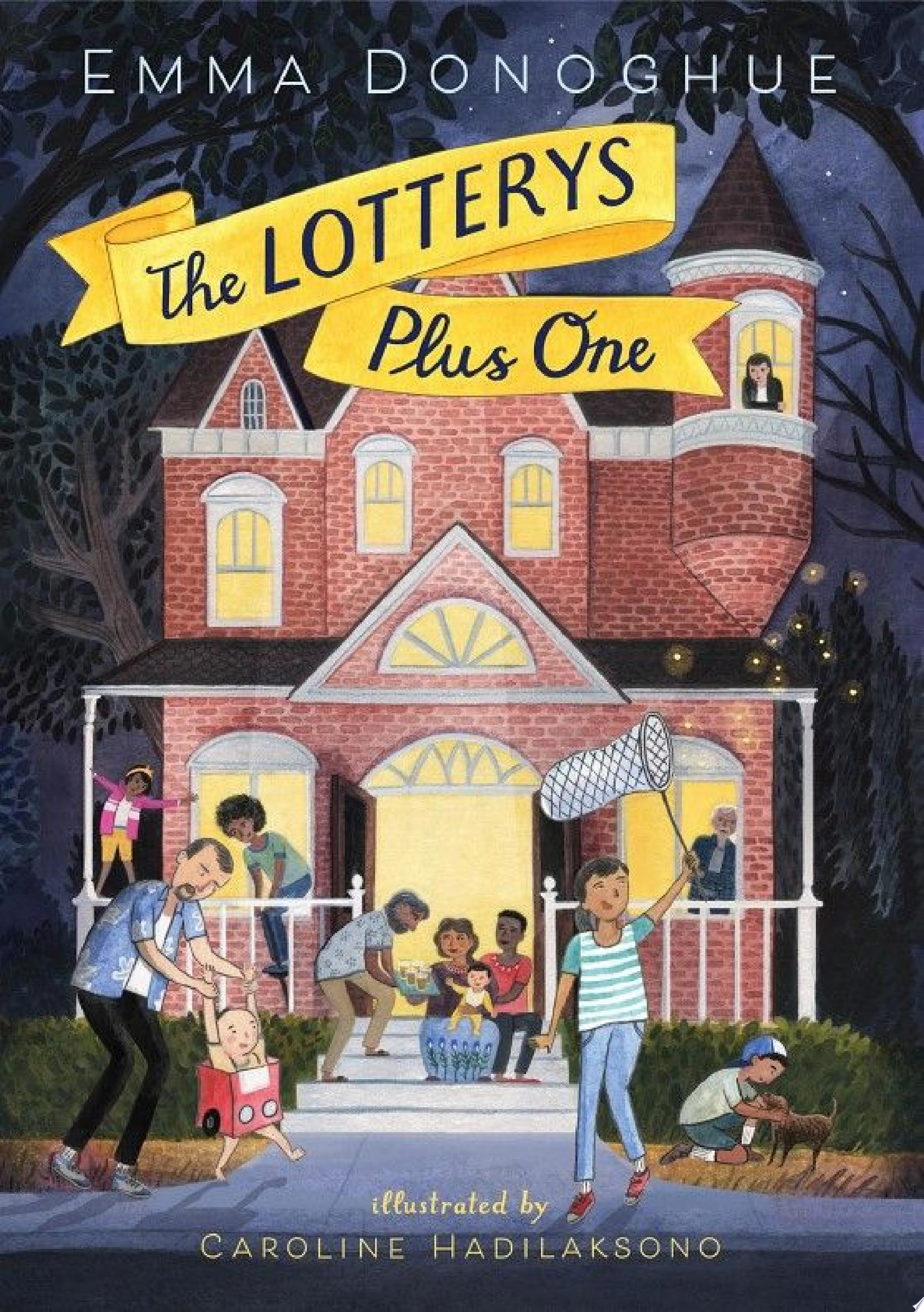"Image for ""The Lotterys Plus One"""