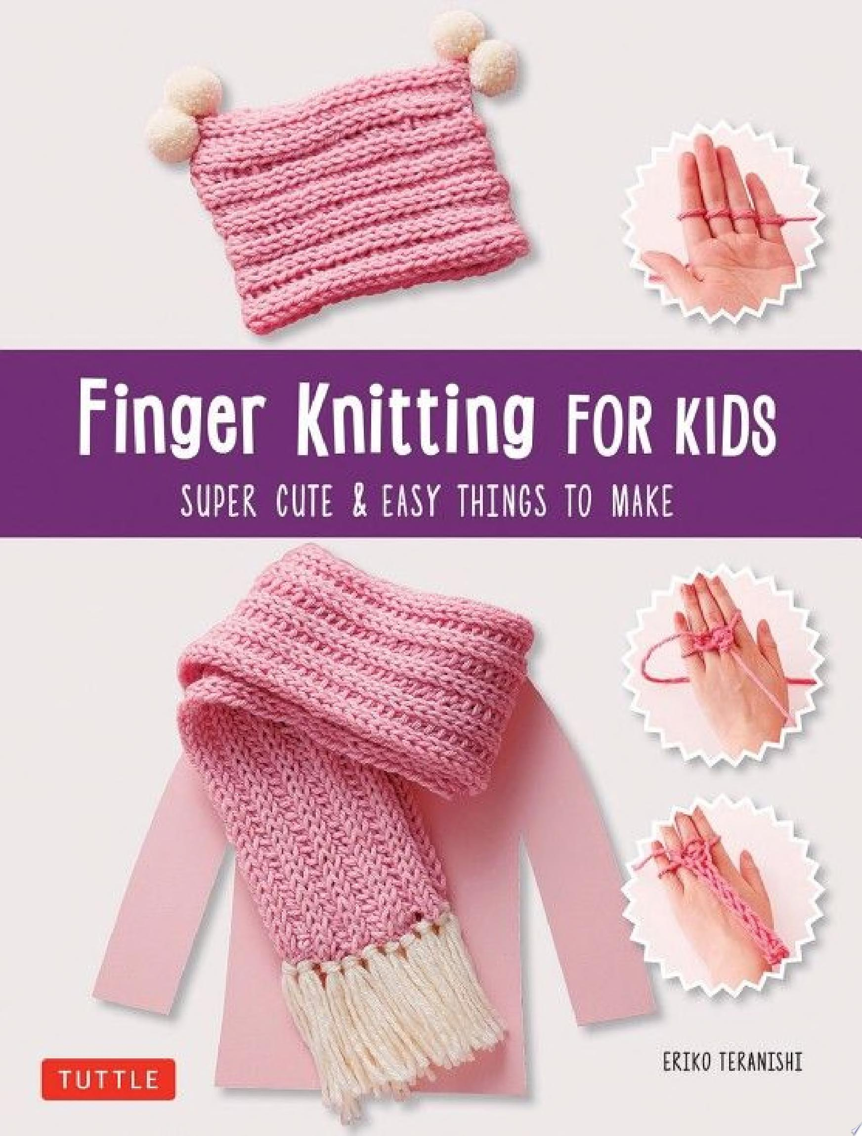 "Image for ""Finger Knitting for Kids"""