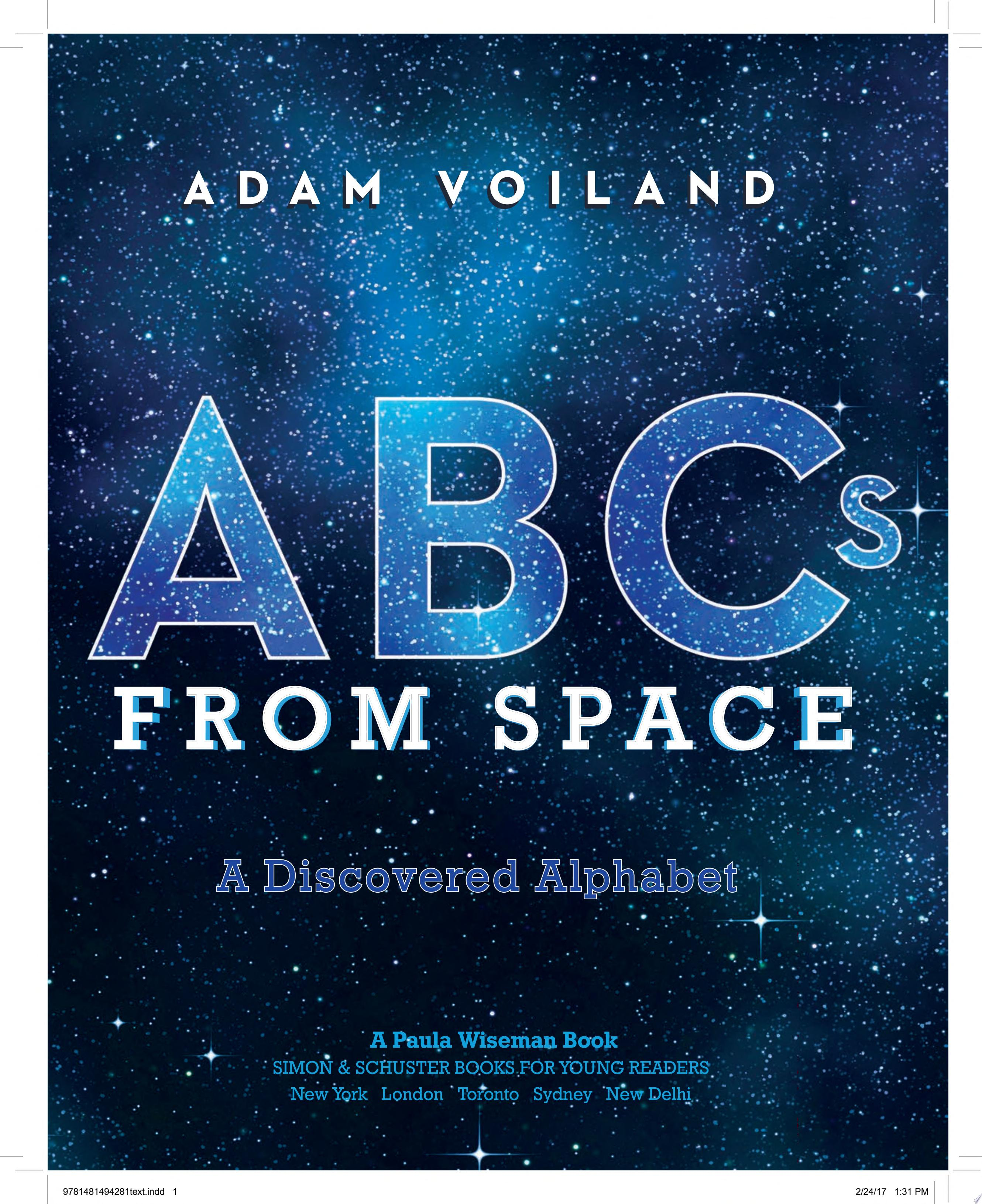"Image for ""ABCs from Space"""