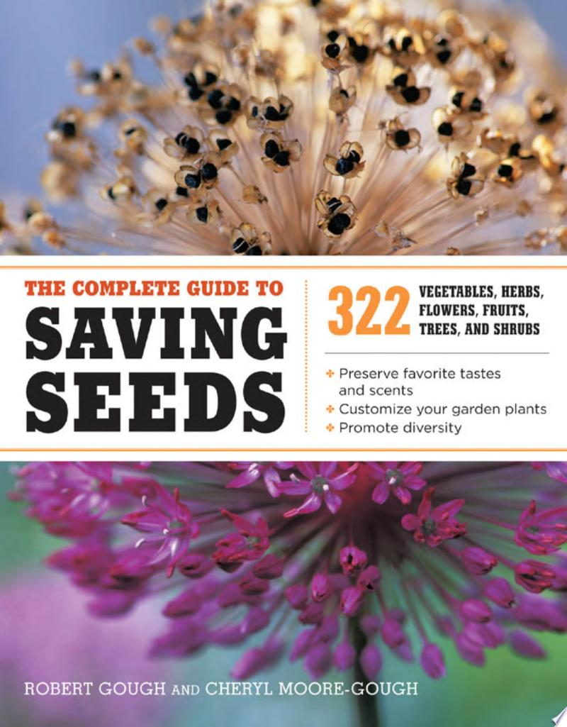 "Image for ""The Complete Guide to Saving Seeds"""