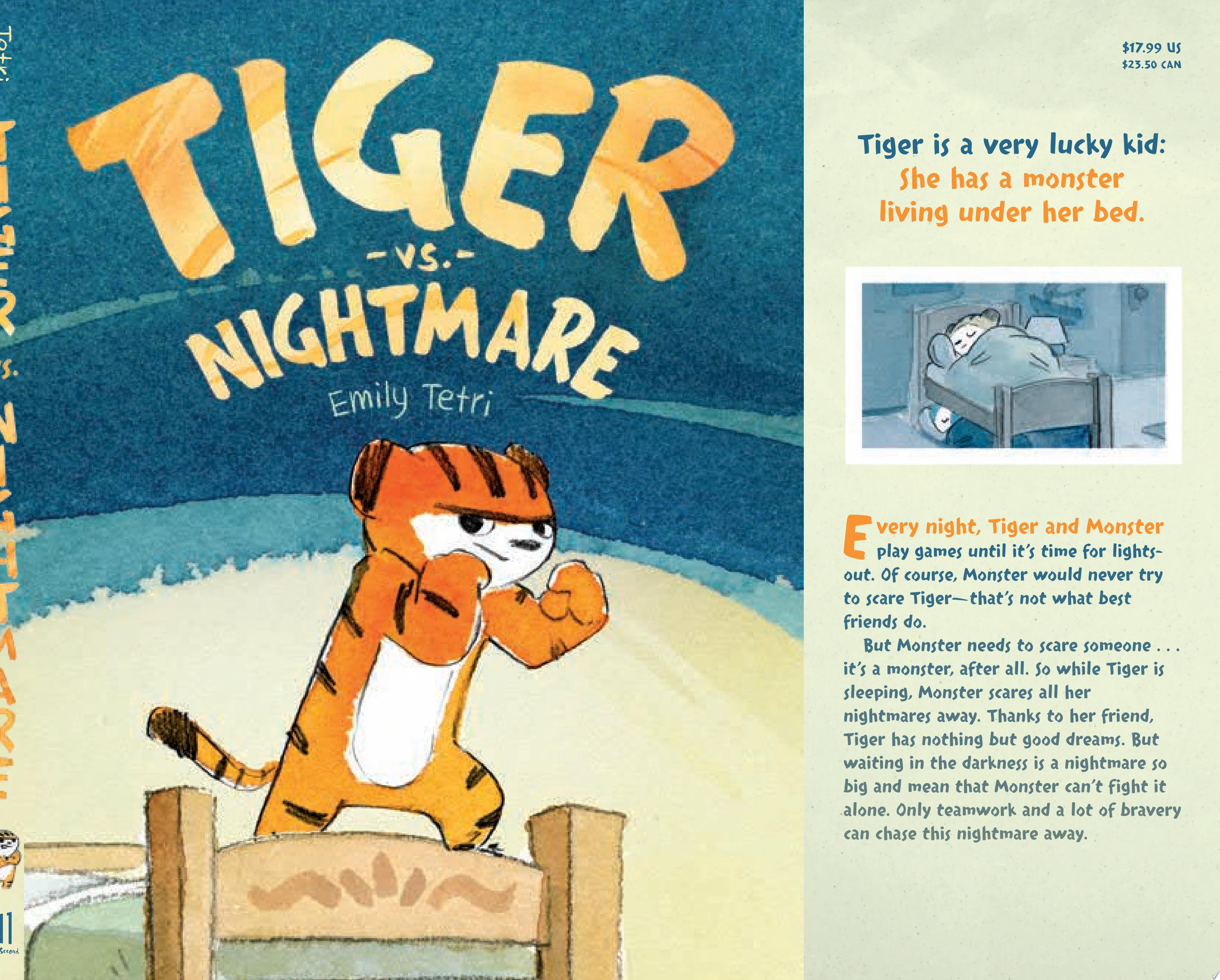 "Image for ""Tiger Vs. Nightmare"""