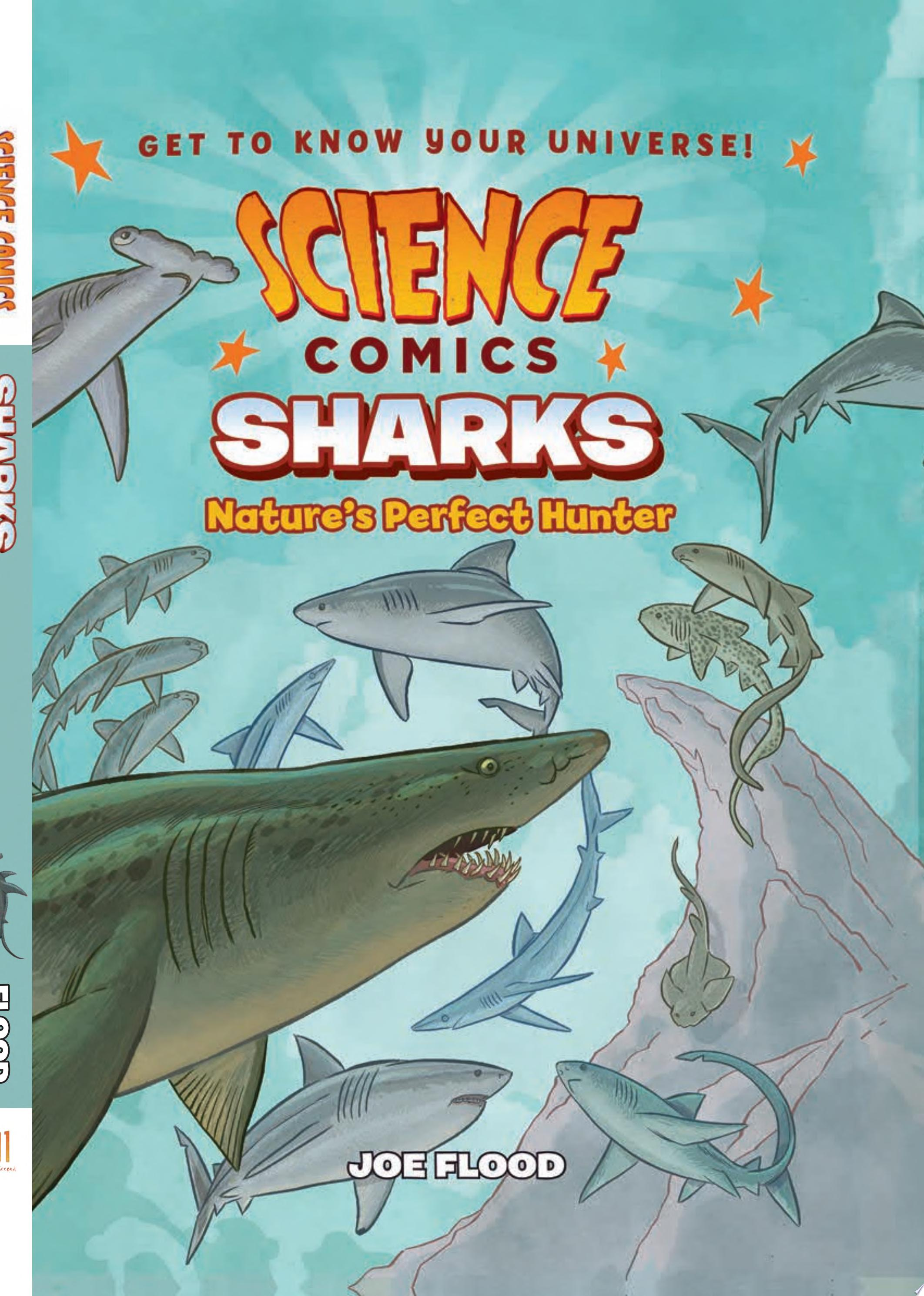 "Image for ""Science Comics: Sharks"""