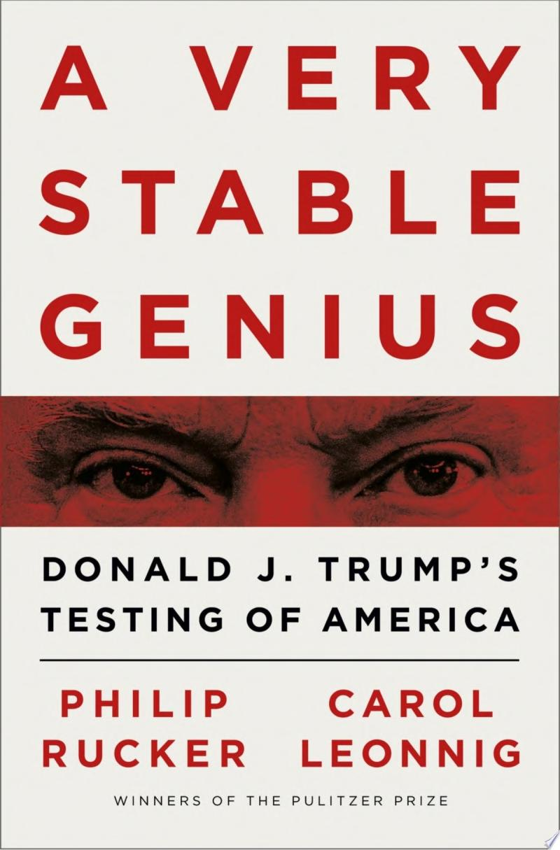 "Image for ""A Very Stable Genius"""