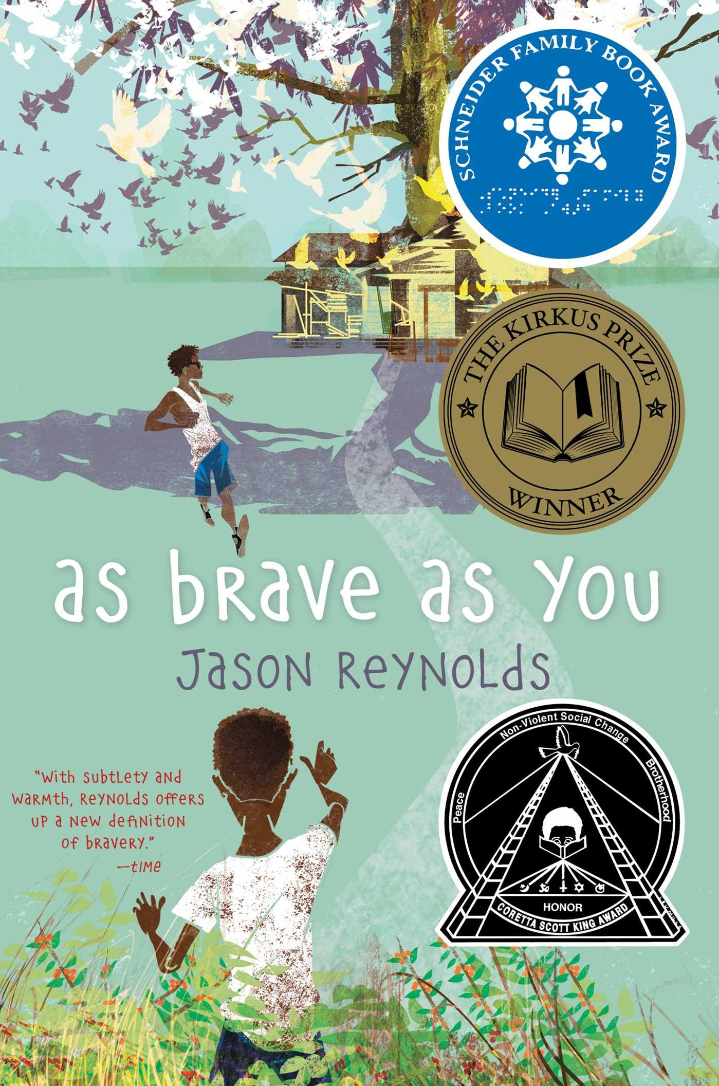 "Book cover for ""As Brave as You"""