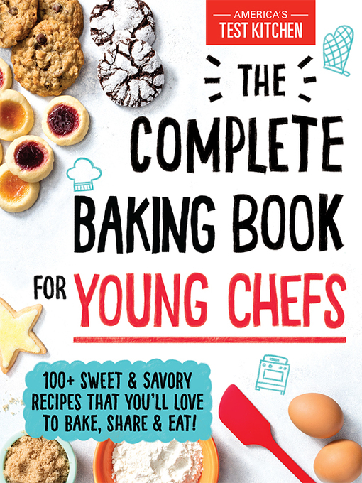 The Complete Baking Book for Young Chefs - Jacket cover
