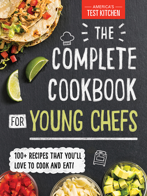 The Complete Cookbook for Young Chefs - Jacket cover