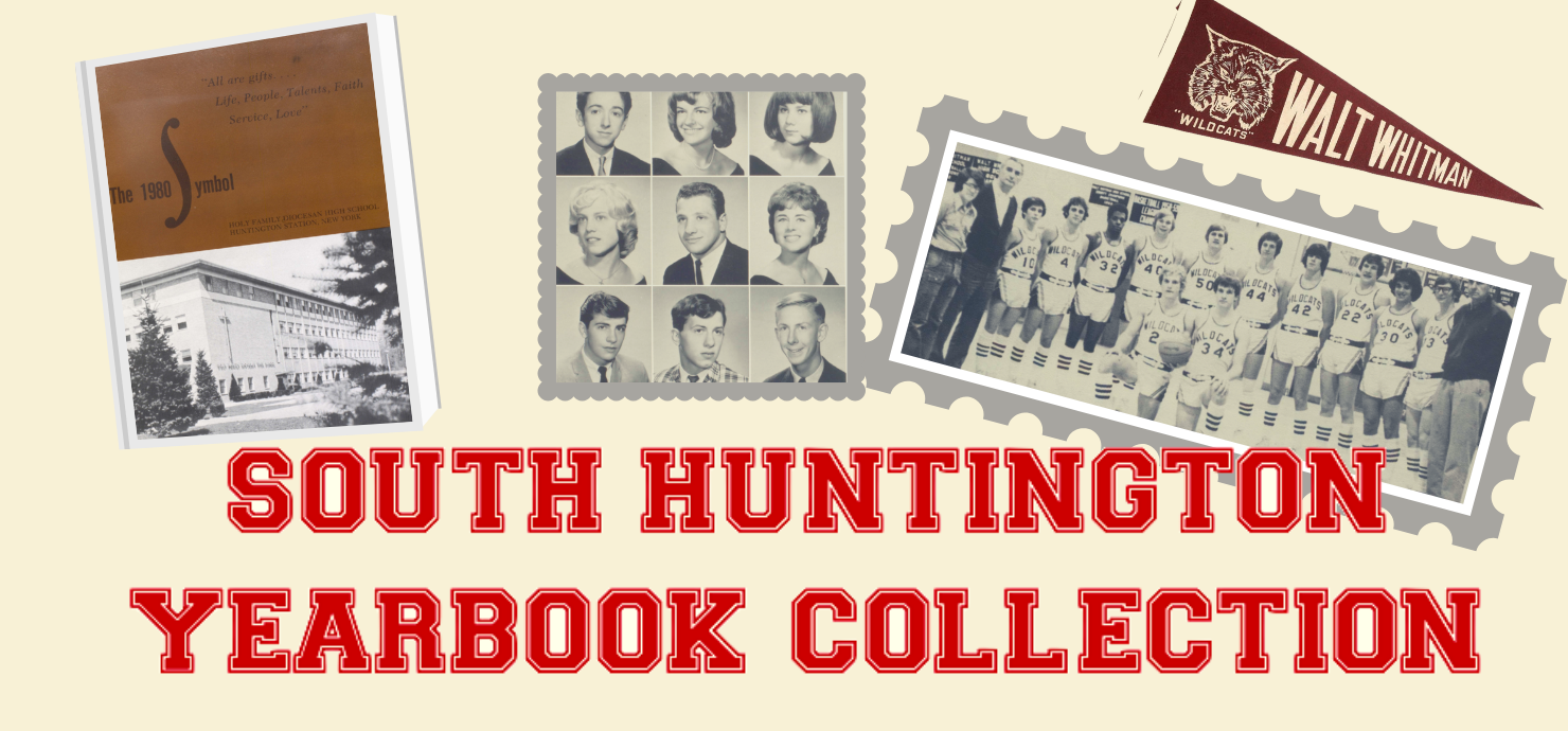 South Huntington Yearbook Collection Graphic
