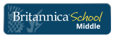 Britannica School Middle logo