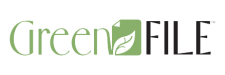 Green File logo