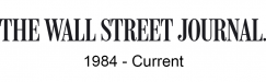 Wall Street Journal, 1984-Current