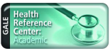 Gale Health Reference Center: Academic button