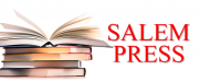 Salem Press logo with stack of books next to red text
