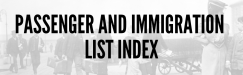 Passenger and Immigration List Index Graphic