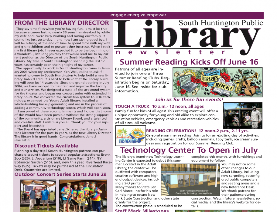 June 2018 newsletter front page thumbnail