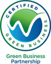 Certified Green Business seal